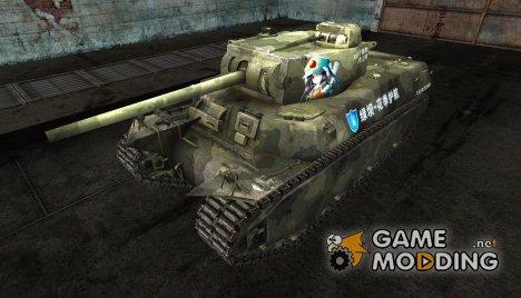 Шкурка для T1 hvy для World of Tanks