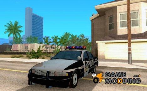 Полицейская машина для GTA San Andreas