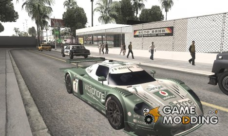 Maserati MC12 GT1 Exclusive for GTA San Andreas