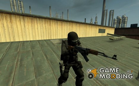 Dark Ass CT для Counter-Strike Source