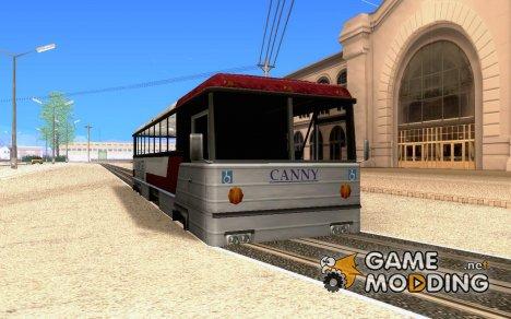 Веселый трамвайчик для GTA San Andreas