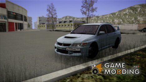 Mitsubishi Lancer Evolution IX 2006 MR for GTA San Andreas