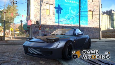 Mazda RX7 RocketBunny для GTA 4