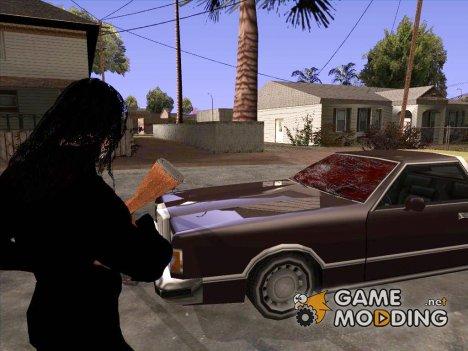 Кровь на стекле авто для GTA San Andreas