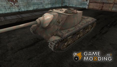 шкурка для T25 AT №2 for World of Tanks