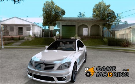 Mercedes-Benz S65 AMG V2.0 for GTA San Andreas