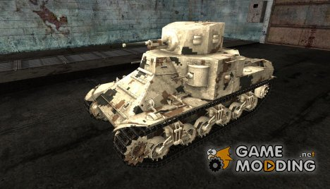 Шкурка для M2 med для World of Tanks