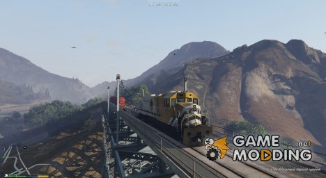Railroad Engineer v2.5 для GTA 5