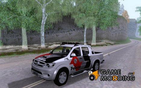 Toyota Hilux PMSP Trânzito для GTA San Andreas