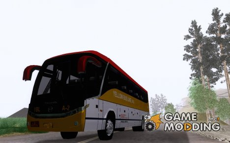 Marcopolo G7 - Yellow Bus Line A-2 для GTA San Andreas