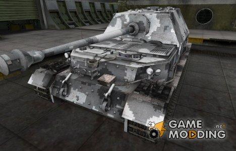 Камуфлированный скин для Ferdinand for World of Tanks