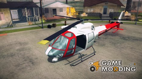 GTA V  Ambulacia Maverick для GTA San Andreas