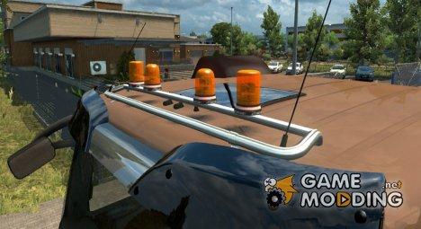 Проблесковые маячки for Euro Truck Simulator 2