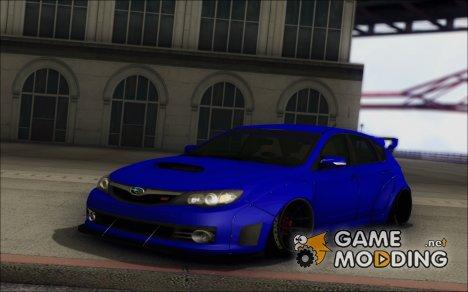 2008 Subaru Impreza WRX STI Widebody L3D for GTA San Andreas