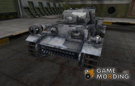 Камуфлированный скин для VK 36.01 (H) для World of Tanks