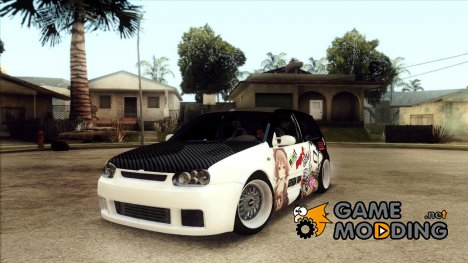 Volkswagen Golf R32 JDM - Itasha for GTA San Andreas