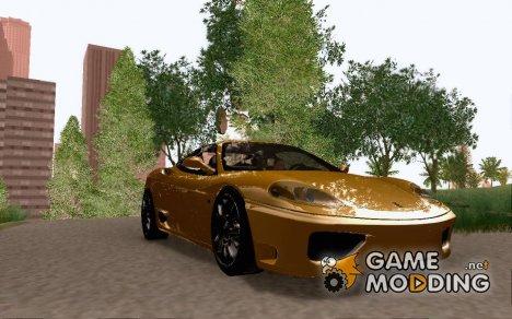 """Ferrari 360 Modena V12 """"TT Black Revel"""" for GTA San Andreas"""