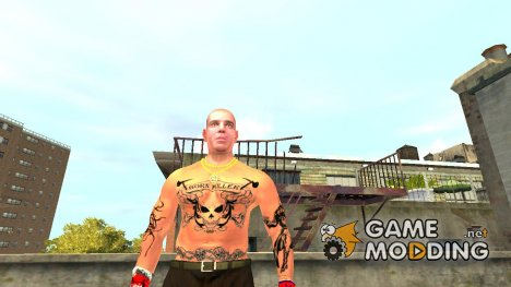 Татуировка для Брюси для GTA 4