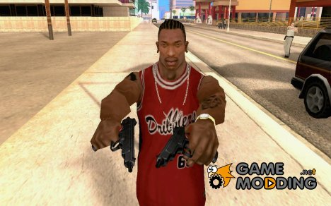Пистолет Стечкина для GTA San Andreas