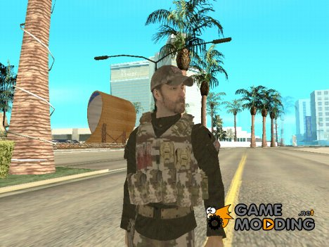 New SWAT Skin for GTA San Andreas