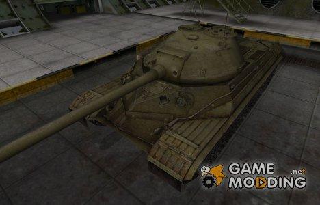 Шкурка для ИС-8 в расскраске 4БО для World of Tanks