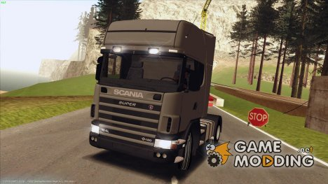 Scania 164L 480 V8 для GTA San Andreas
