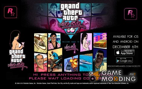 Best Loading Screen для GTA Vice City