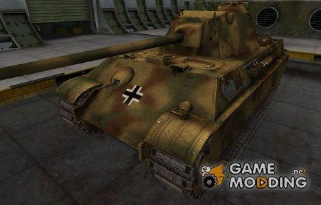 Немецкий скин для Panther II для World of Tanks