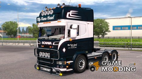 Scania R500 City Trans Basel for Euro Truck Simulator 2