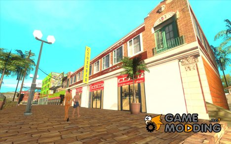 Новая пляжная улица для GTA San Andreas