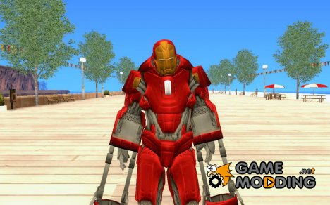 Iron man Red Snapper для GTA San Andreas