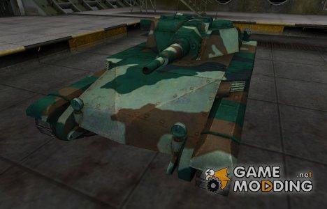 Французкий синеватый скин для ELC AMX для World of Tanks