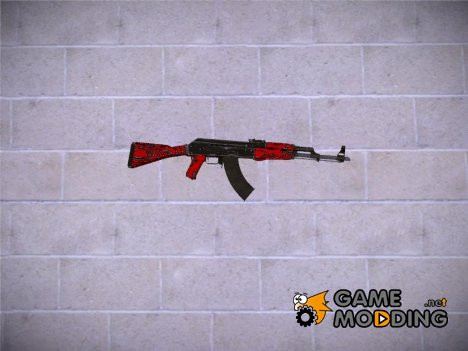 CSGO AK47 Laminate Red для GTA San Andreas