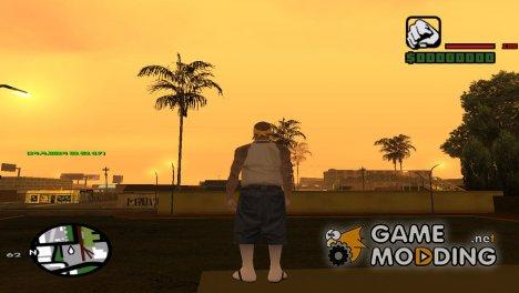 Время и дата for GTA San Andreas