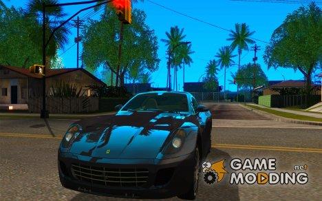 Ferrari 599 GTB Fiorano (оранжевый салон) для GTA San Andreas