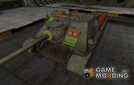 Зона пробития СУ-100 for World of Tanks