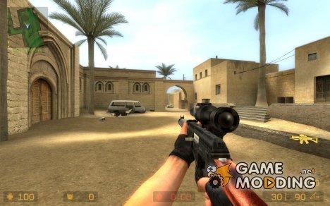 Vss Vintorez (sg552) для Counter-Strike Source
