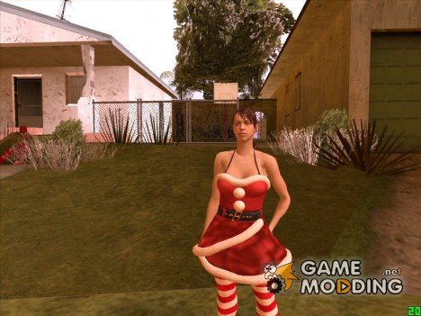 Mrs Clause Quiet (Metal Gear Solid V) для GTA San Andreas
