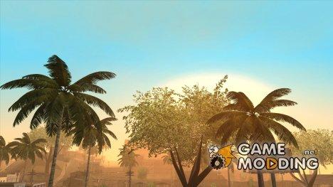 SA Vegetation Pack RELOADED для GTA San Andreas