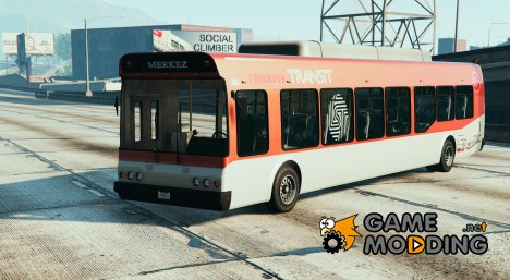 Türkiye Otobüs v1.1 для GTA 5