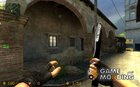 knife anonymous for Counter-Strike Source