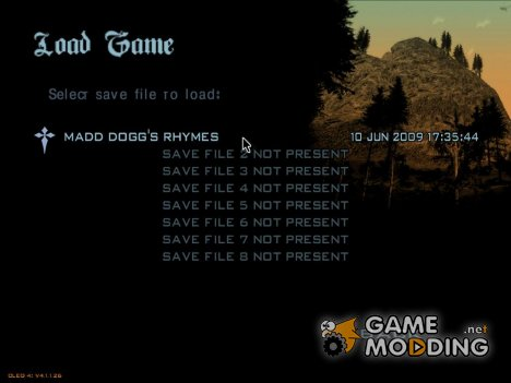 19. Madd Dogg's rhymes для GTA San Andreas