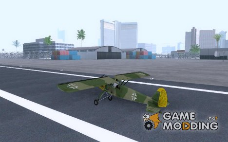 Самолет Fi-156 Storch для GTA:SA for GTA San Andreas