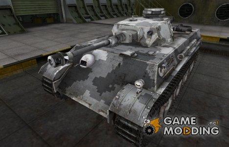 Камуфлированный скин для PzKpfw V/IV for World of Tanks