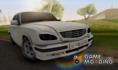 ГАЗ 31105 Волга BUNKER for GTA San Andreas