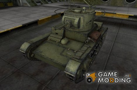 Ремоделинг для Т-26 для World of Tanks