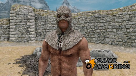 Chainmail Executioner Hood for TES V Skyrim
