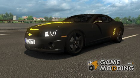 Chevrolet Camaro для Euro Truck Simulator 2