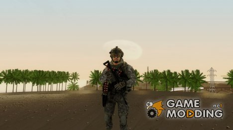 Modern Warfare 2 Soldier 8 для GTA San Andreas
