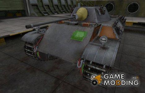 Зона пробития VK 16.02 Leopard for World of Tanks